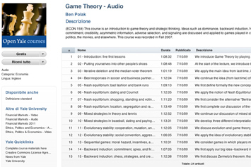 Game Theory - Open Yale.
