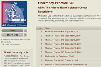 Pharmacy Practice - University of Arizona