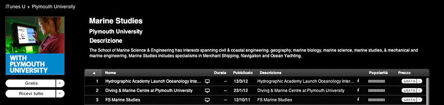 Mechanical, Marine and Materials Engineering - Plymouth University.