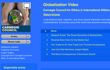 Globalization Video - Carnegie Council for Ethics in International Affairs.