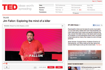 Jim Fallon: Exploring the mind of a killer.