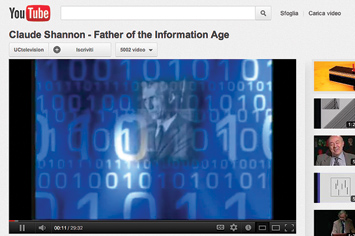 Claude Shannon, Father of the Information Age.