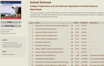 Animal Sciences - University of Arizona.