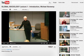 Global Sociology Lecture: 1 - Introduction, Michael Burawoy.