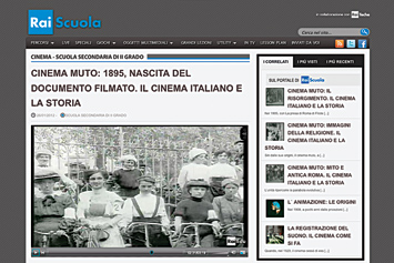 Cinema Muto: 1895, nascita del documento filmato.